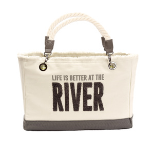"River by We People - 21"" x 12"" Canvas Tote"