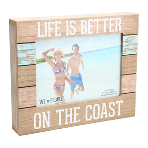 "Coast by We People - 9"" x 7.25"" Frame (Holds 5"" x 7"" photo)"