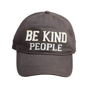 Be Kind People by We People - Dark Gray Adjustable Hat