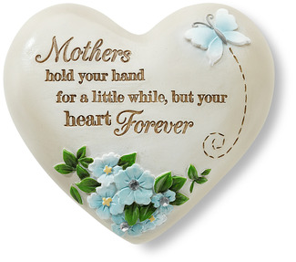 "Mother by Heart Expressions - 2.5"" Inspirational Heart"