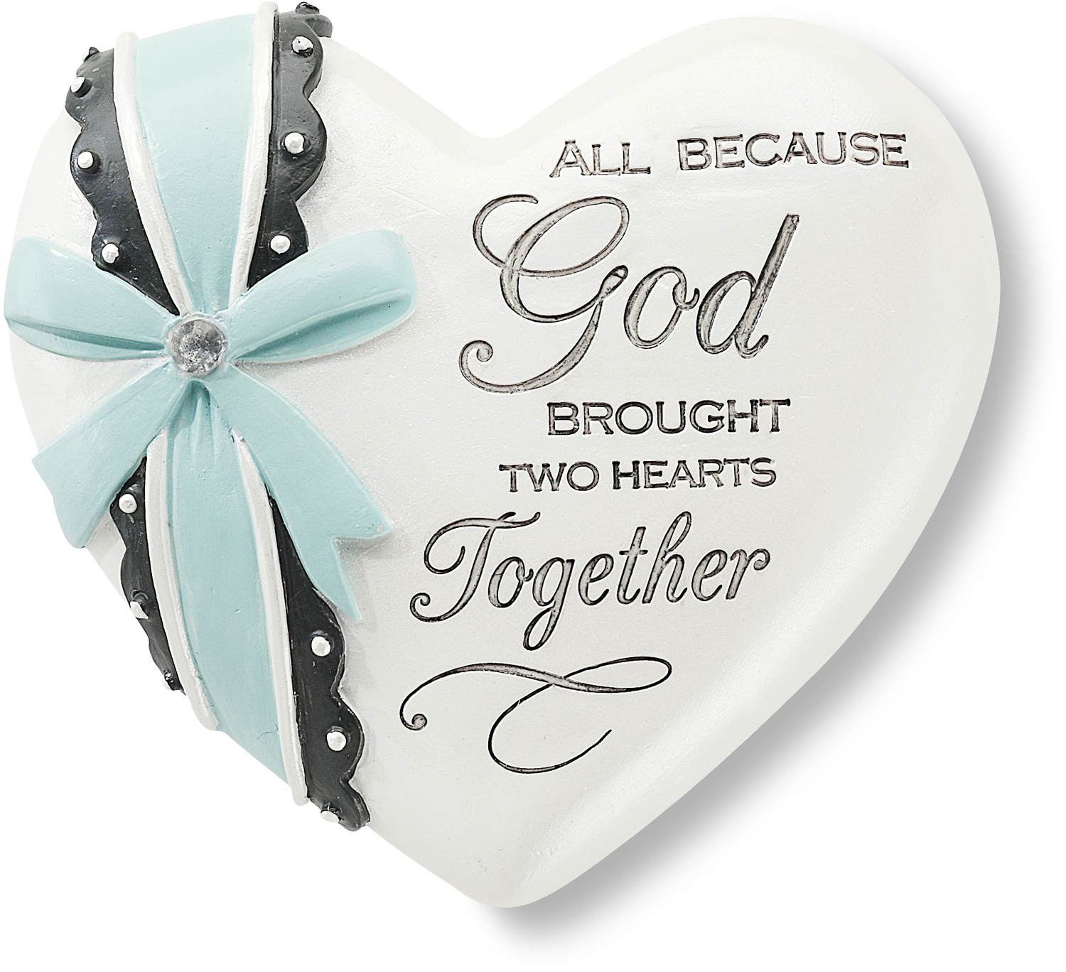"Two Hearts by Heart Expressions - Two Hearts - 2.5"" Inspirational Heart"