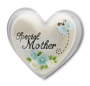 "Special Mother by Heart Expressions - 1.5"" Heart Token"