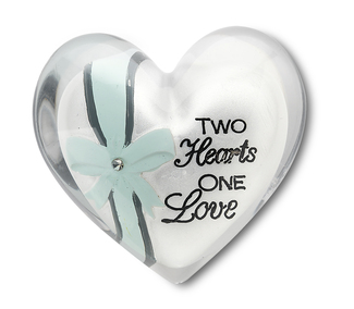 "Two Hearts by Heart Expressions - 1.5"" Heart Token"