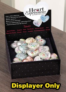 "Heart Expressions Token Disp by Heart Expressions - 6""L x 6.75""H x 6""W"