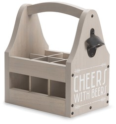 "Cheers by Man Crafted - 12"" Beer Tote"
