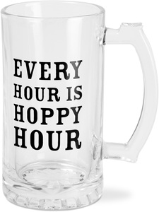 Hoppy Hour by Man Crafted - 16 oz Beer Stein