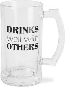 Drinks Well by Man Crafted - 16 oz Beer Stein