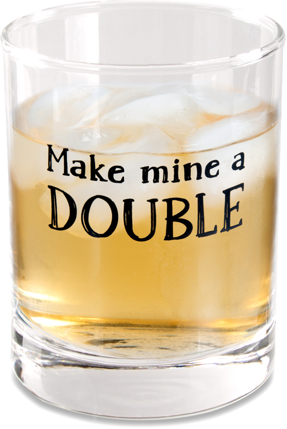 Double by Man Crafted - Double - 11 oz Rocks Glass