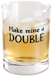 Double by Man Crafted - 11 oz Rocks Glass