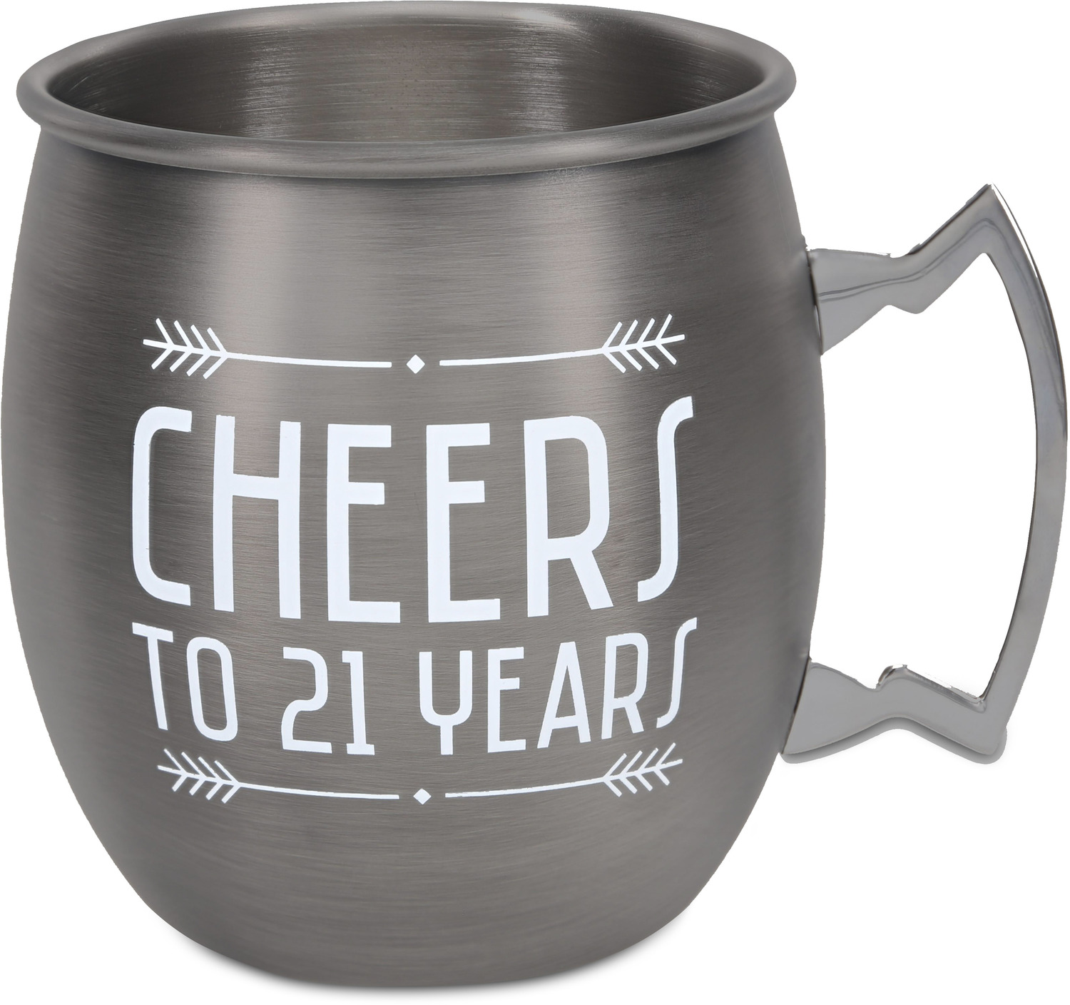 21 Years by Man Crafted - 21 Years - 20 oz Stainless Steel Moscow Mule