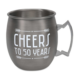 50 Years by Man Crafted - 20 oz Stainless Steel Moscow Mule