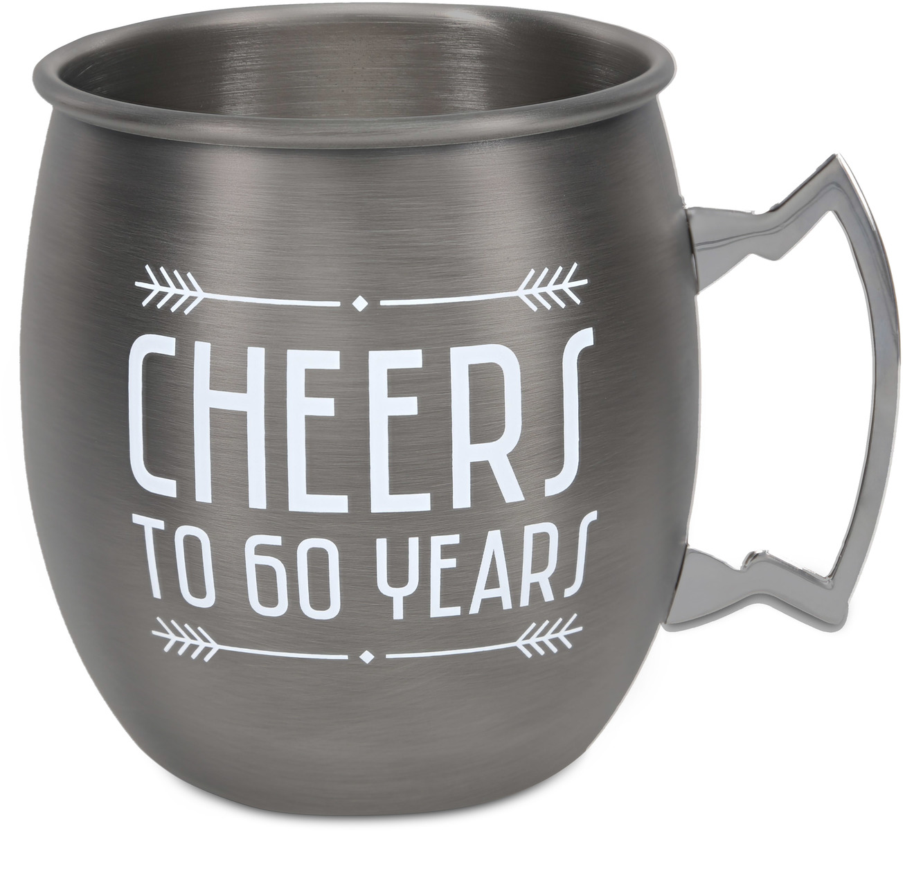 60 Years by Man Crafted - 60 Years - 20 oz Stainless Steel Moscow Mule