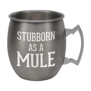 Stubborn by Man Crafted - 20 oz Stainless Steel Moscow Mule