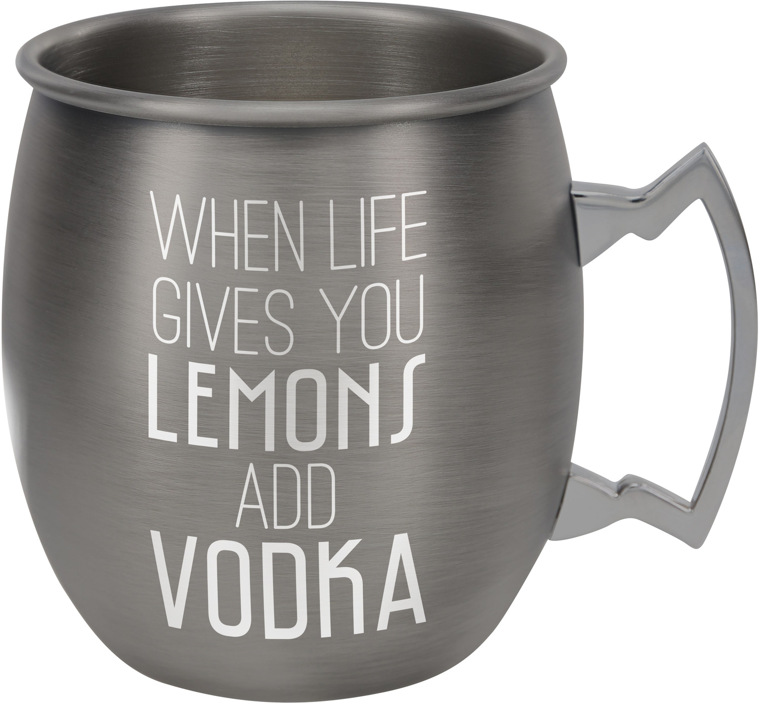 Add Vodka by Man Crafted - Add Vodka - 20 oz Stainless Steel Moscow Mule