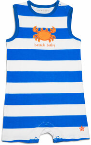 Beach Baby by We Baby - 6-12 Month Boy Romper