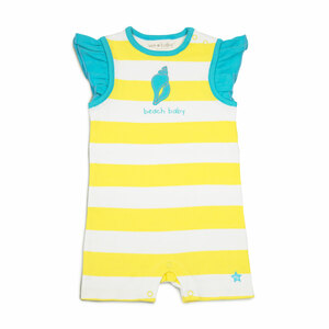Beach Baby by We Baby - 6-12 Month Girl Romper