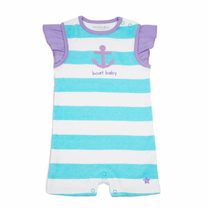 Boat Baby by We Baby - 6-12 Month Girl Romper