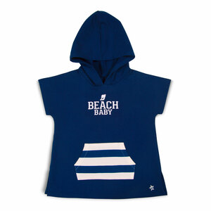 Beach by We Baby - Hooded French Terry Cover Up (2T-3T)