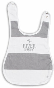 River Baby by We Baby - Reversible Bib (6M - 3 Years)