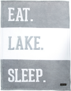 "Lake by We Baby - 30"" x 40"" Royal Plush Blanket"