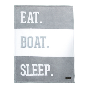 "Boat by We Baby - 30"" x 40"" Royal Plush Blanket"