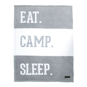 "Camp by We Baby - 30"" x 40"" Royal Plush Blanket"