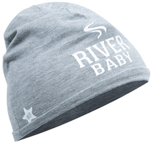 River by We Baby - Heathered Gray  Beanie (0-12 Months)