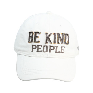 Be Kind by We People - White Adjustable Hat