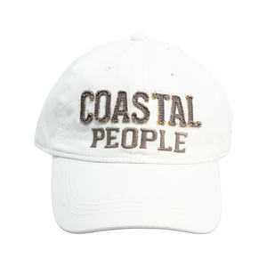 Coastal People by We People - White Adjustable Hat