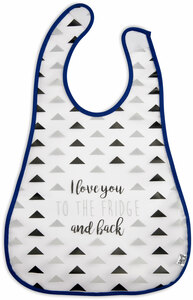 Fridge by Sidewalk Talk - Waterproof Bib