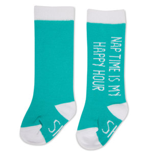 Happy Hour by Sidewalk Talk - 0-12 Months Baby Knee Highs