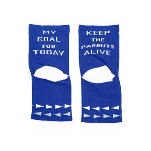 Goal For Today by Sidewalk Talk - 2T-4T Crew Socks