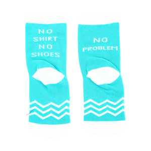 No Problem by Sidewalk Talk - 2T-4T Crew Socks