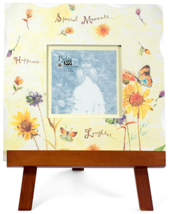 "Special Moments by Fields of Joy - 12""x12"" Yellow Frame w/E"