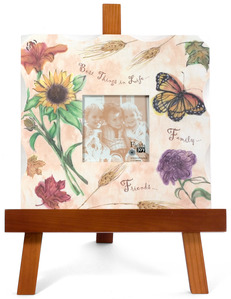 "Best Things in Life by Fields of Joy - 10""x10"" Fall Frame w/Eas"