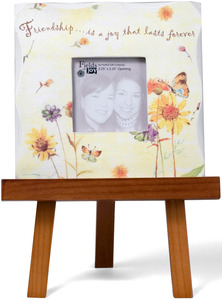 "Friend by Fields of Joy - 5.5""x5.5"" Mini Frame w/Easel"