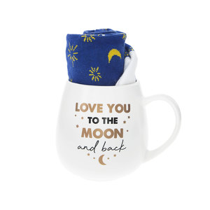 Love You by Warm & Toe-sty - 15.5 oz Mug and Sock Set