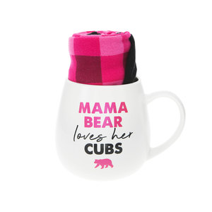 Mama Bear by Warm & Toe-sty - 15.5 oz Mug and Sock Set