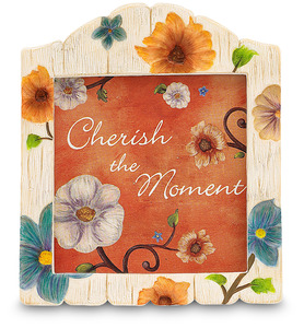 "Cherish the Moment by We Love - 4.5"" Photo Frame"