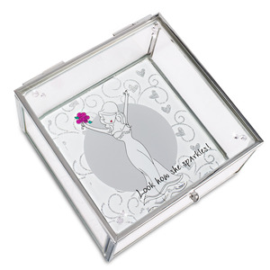 "Beautiful Bride by philoSophies - 4"" Glass Keepsake Box"