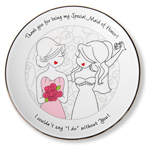 "Maid of Honor by philoSophies - 5"" Keepsake Dish"
