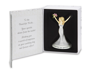 "Bride by philoSophies - 4.5"" Ornament"