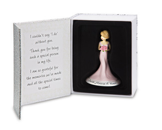 "Matron of Honor by philoSophies - 4.5"" Ornament"