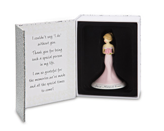 "Maid of Honor by philoSophies - 4.5"" Ornament"