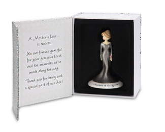"Mother of the Groom by philoSophies - 4.5"" Ornament"