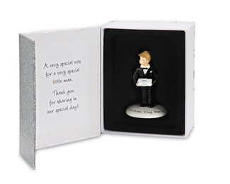"Ring Bearer by philoSophies - 4.5"" Ornament"