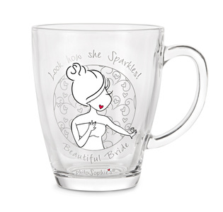 Bride by philoSophies - 12.5oz Glass Cup