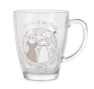 Mother of the Bride by philoSophies - 12.5oz Glass Cup