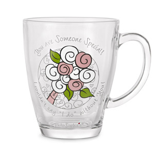 Someone Special by philoSophies - 12.5oz Glass Cup