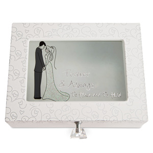 "Have and Hold by philoSophies - 8"" x 6"" Keepsake Box"